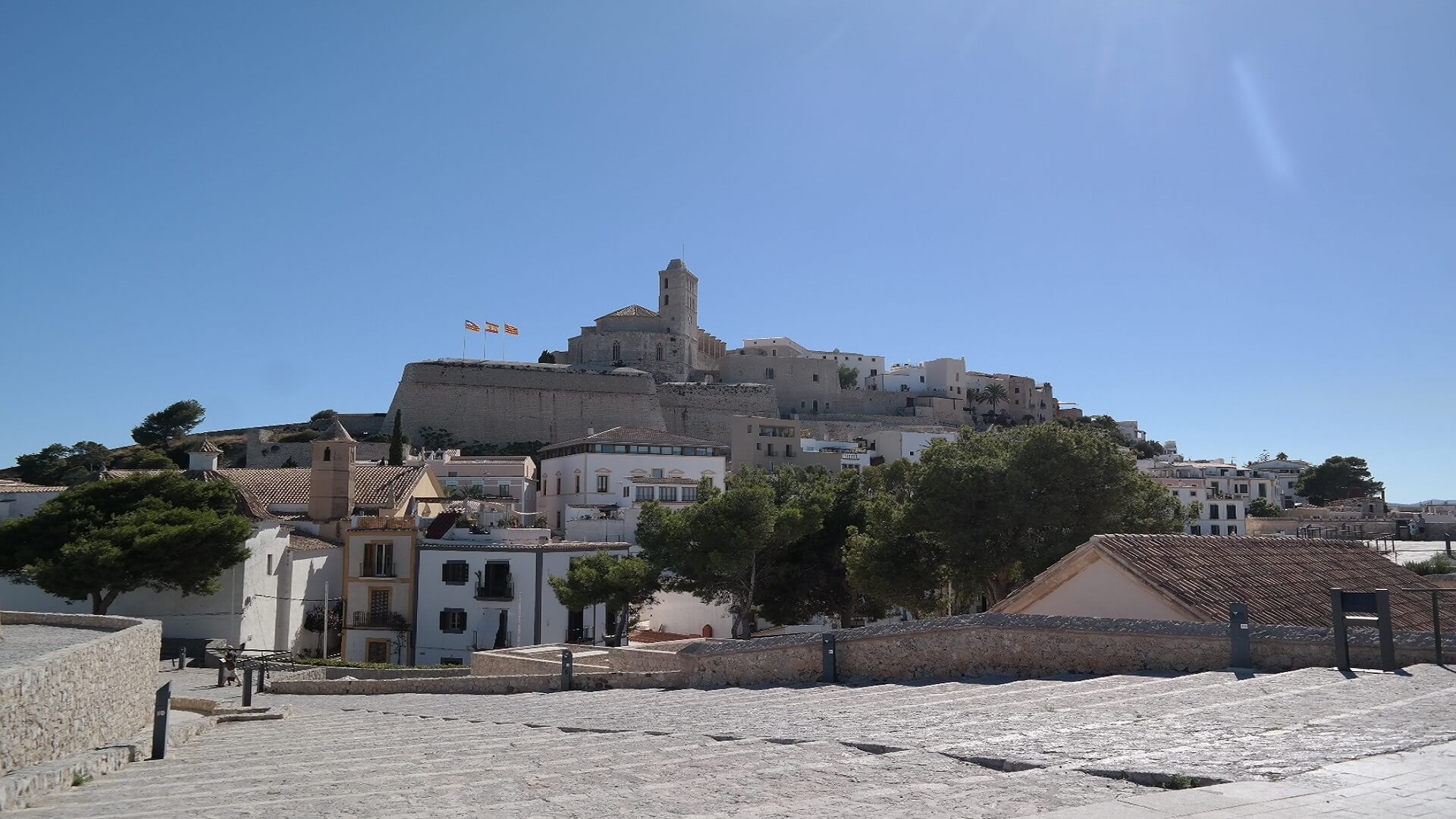 Medieval festival 2018 in Ibiza town