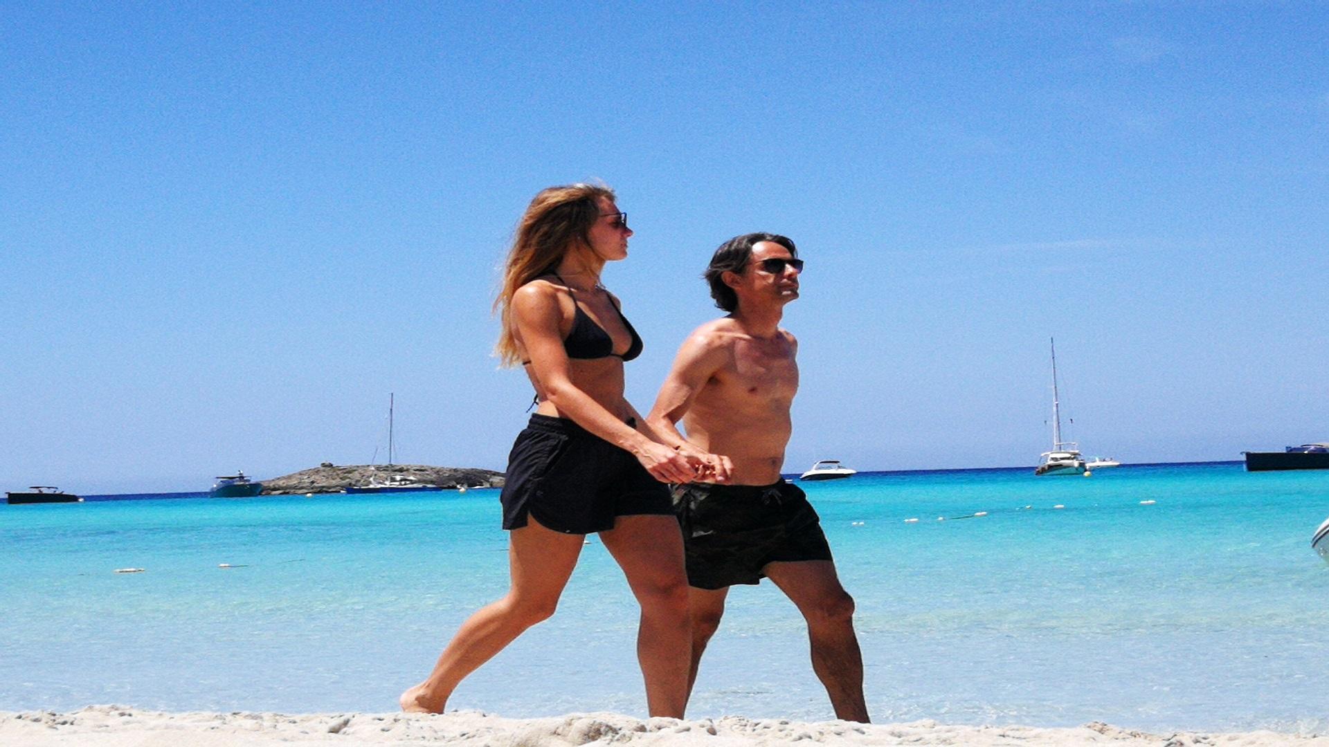 Formentera with Filippo Inzaghi